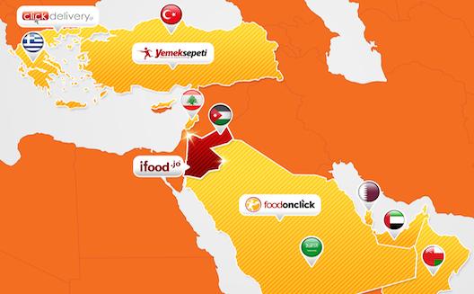 Turkey's Yemeksepeti acquires a majority stake in Jordan's ifood.jo