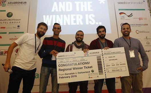 Palestinian startup to compete in Seedstars World finals