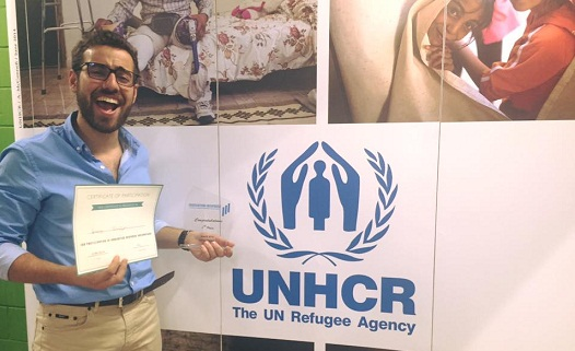 جهاز استشعار سريع الاستجابة للطوارئ يفوز في ماراتون أفكار اللاجئين
