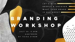 Branding Workshop: uncovering & defining your story