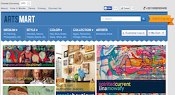 Can fine art sell online in Egypt?