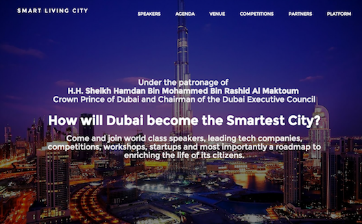 5 components of a smart ecosystem, from SmartLivingCity Dubai