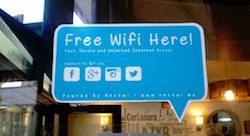 Transformer le wifi des commerçants en outil marketing