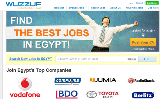Egyptian job site Wuzzuf joins 500 Startups' acceleration program