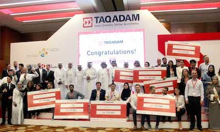 Taqadam announces six winners