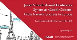 Jusoor's Fourth Annual Global Conference: Syrians as Global Citizens