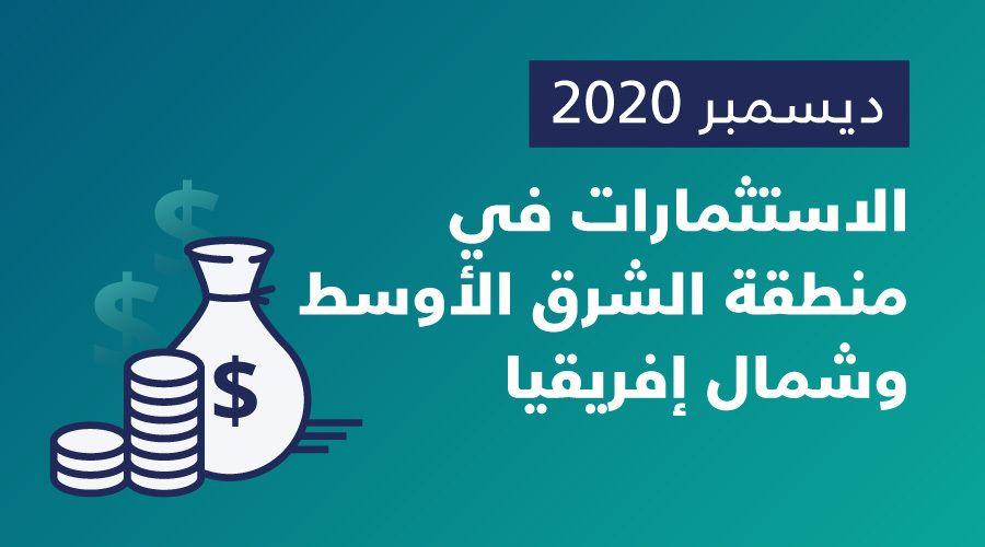الشركات الناشئة في الشرق الأوسط وشمال إفريقيا تجمع 65.5 مليون دولار في ديسمبر، ليرتفع إجمالي عام 2020 إلى 654 مليون دولار