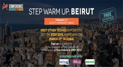 STEP Warm Up Tour: Beirut