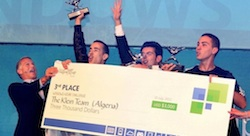 Algerian Team Takes Microsoft's Global Stage to Fight Diabetes