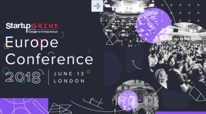 Startup Grind Europe Conference 2018