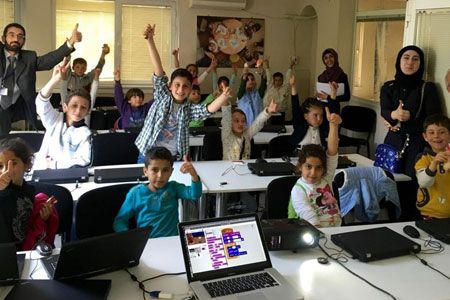 Teaching coding to young refugees will generate job opportunities to thousands
