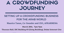 Entrepreneur Journey Session - Founder Series, with AFKARMENA CEO Maurice Tanas