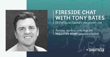 Register to attend a Fireside chat with Tony Bates in Dubai
