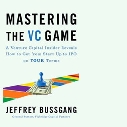 BOOK REVIEW: Mastering the VC Game