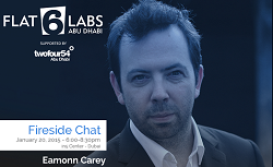 Flat6Labs Abu Dhabi Fireside Chat with Techstars' Eamonn Carey