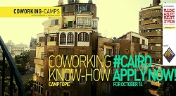 Coworking Camp in Cairo, Deadline September 15