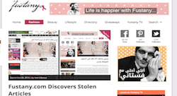 Egyptian entrepreneur Amira Azzouz fights back against content theft