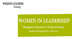 Women in Leadership Program in Dubai
