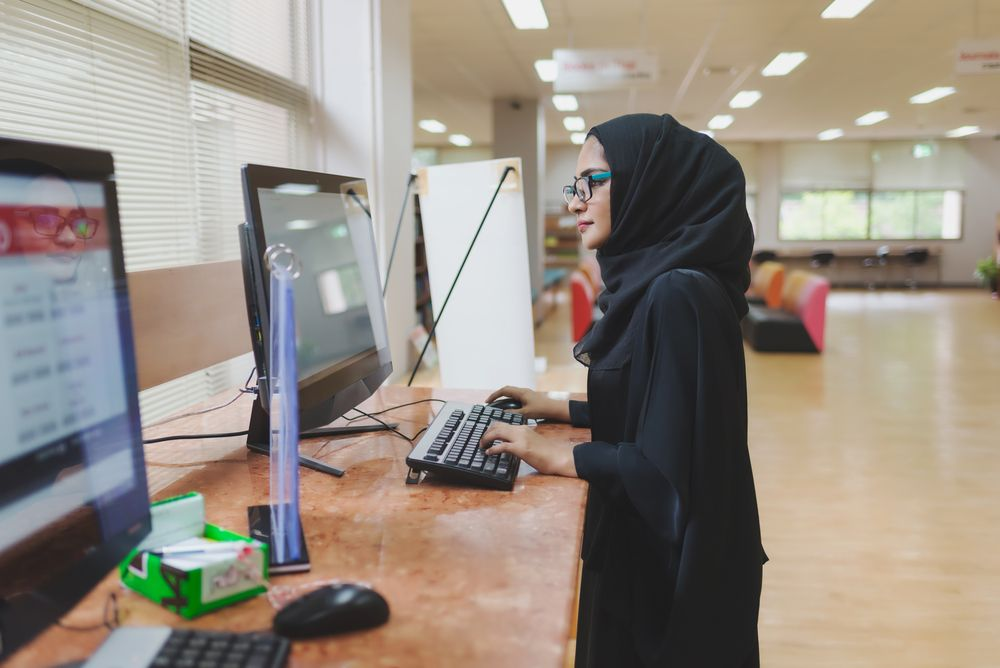 Coding and conservatism: Saudi women learn online