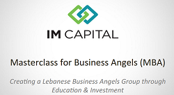 IM Capital's Masterclass for Business Angels (MBA)