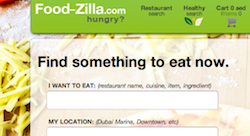 Food-zilla Launches Customers Online Food Ordering Service for Dubai