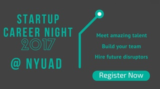 NYUAD Startup Career Night 2017