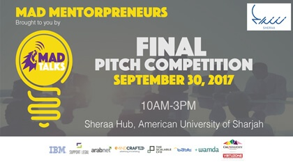 MAD Mentorpreneurs Pitch Competition