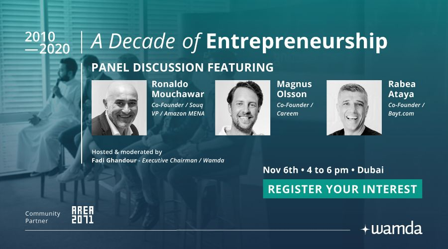 A Decade of Entrepreneurship - Register your interest to attend