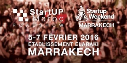 Startup Weekend Marrakech 2016