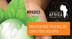 Innovation Prize for Africa now open, Deadline 31 October