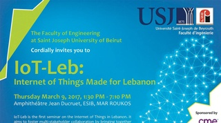IoT-Leb: Internet of Things Made for Lebanon