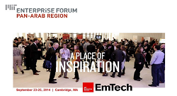 The yearly EmTech Conference in Cambridge