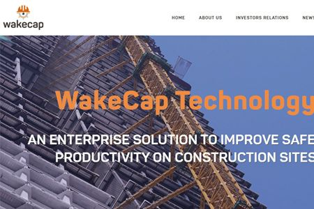 Workers' safety and tracking device WakeCap raised $300K