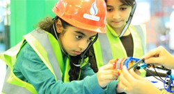 Science at a young age: workshops for innovative Saudis
