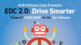 AUB Robotics Club presents Engineering Design Challenge 2.0: Drive Smarter