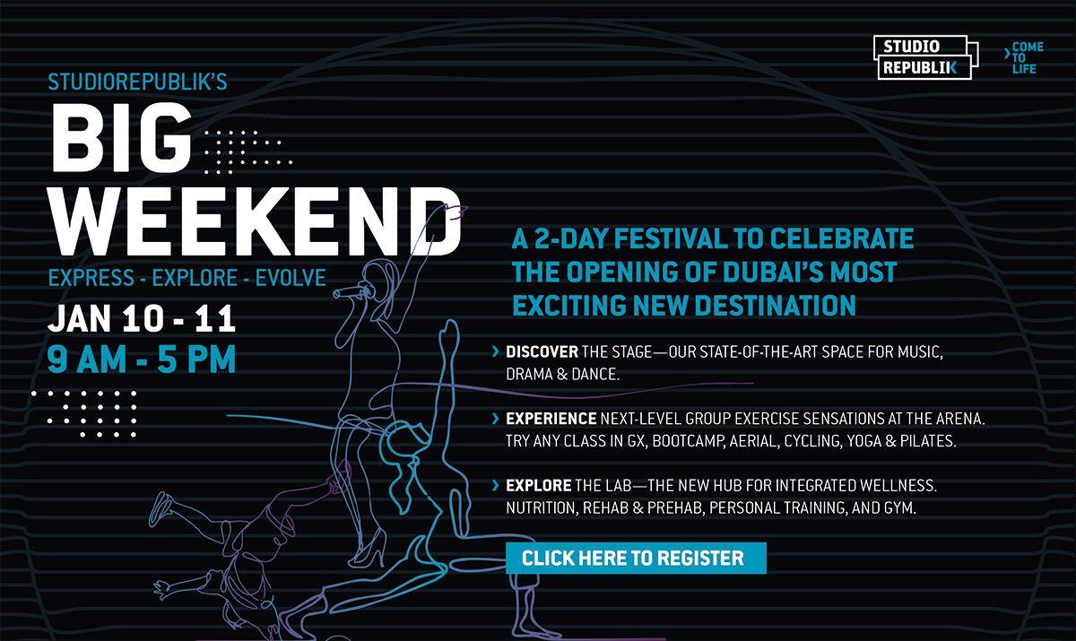 StudioRepublik's Big Weekend