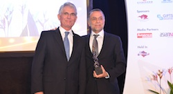 Wamda Chairman Fadi Ghandour receives award at World Entrepreneurship Forum