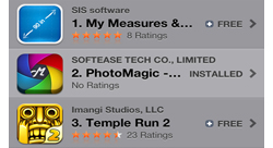 The Top 10 Applications on the App Store in Lebanon