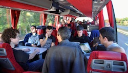 Sleep-deprived, failing fast, and pivoting smartly: Day 1 on StartupBus Europe