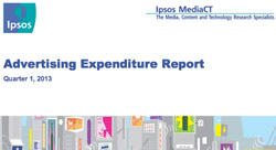 Help us make sense of this Ipsos report on Q1 2013 ad spend in the Arab world