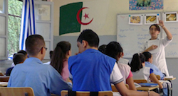 How will technology change education in Algeria?
