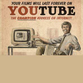 Fake Vintage Website Advertisements