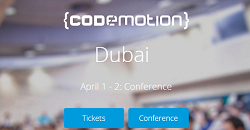 Codemotion Dubai 2016