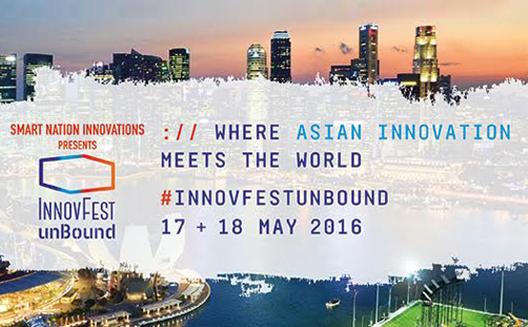 InnovFest unBound 2016 in Singapore
