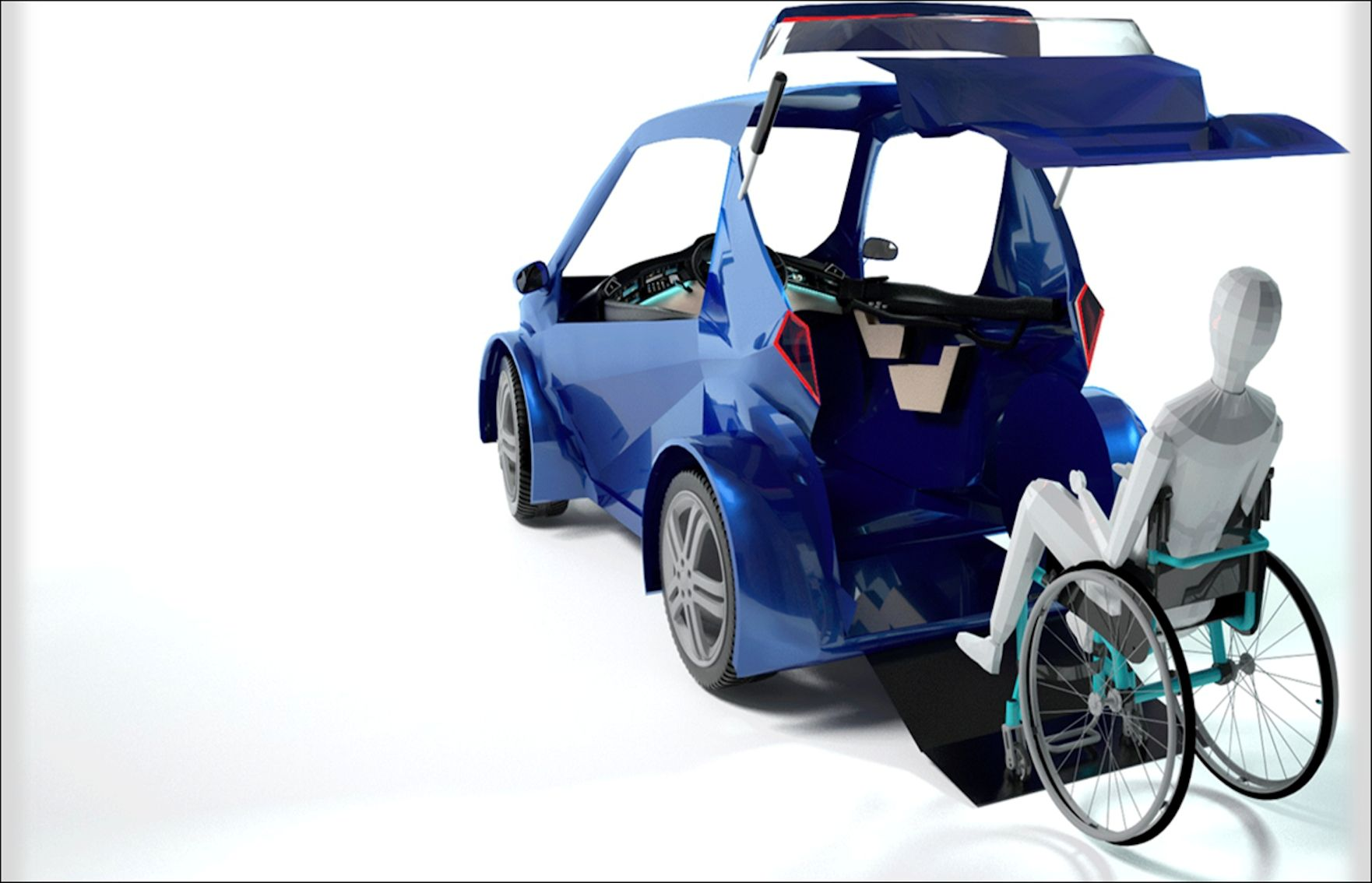 """القيادة للجميع: شركة """"هاوكار"""" تسعى لتمكين ذوي الهمم في الشرق الأوسط من قيادة السيارات"""