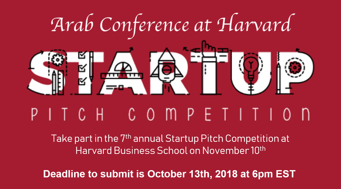 7 th Annual Arab Startup Competition at Harvard Business School