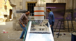 Sun shines on Egypt's solar startups