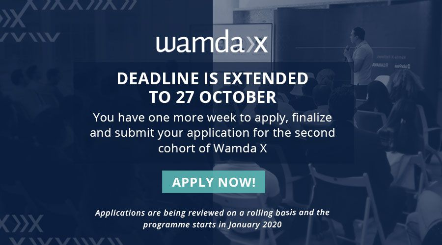Wamda X applications deadline extended to Oct 27