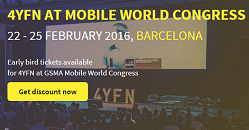 4YFN Mobile World Congress Startup event