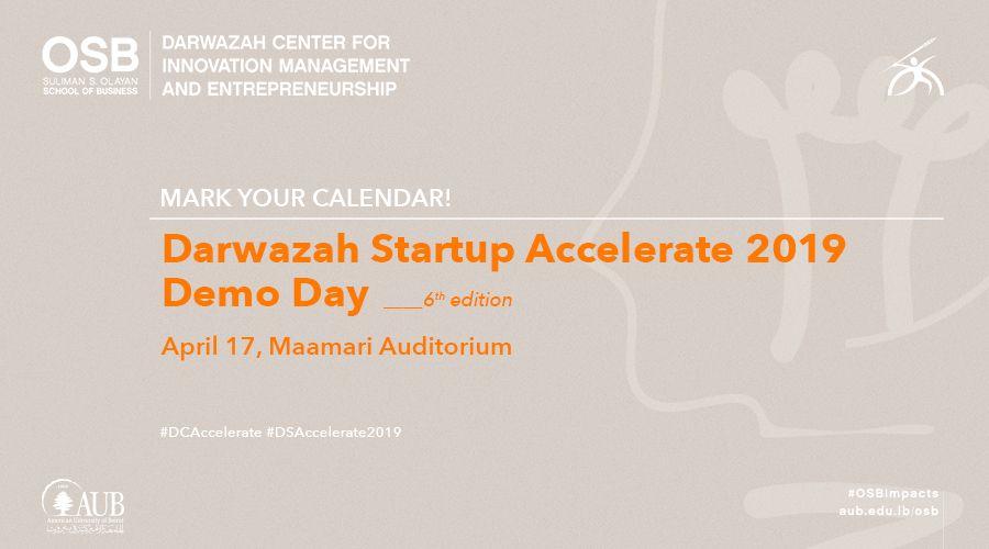 Darwazah Startup Accelerate 2019